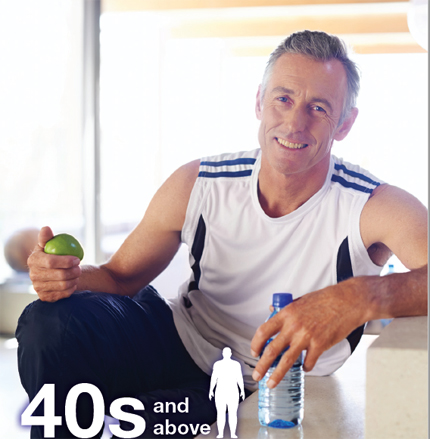 Suplemen Penting Untuk Lelaki Sekitar Usia 40an dan ke atas